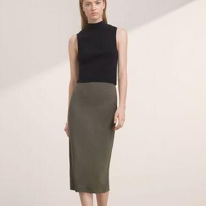 Aritzia Johan Grey Skirt XS